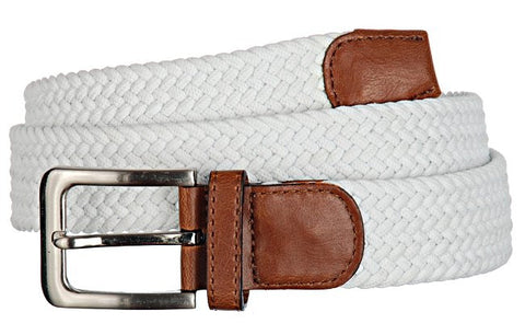 Wide Men's Leather Stretch Belt Wholesale 7001GWH
