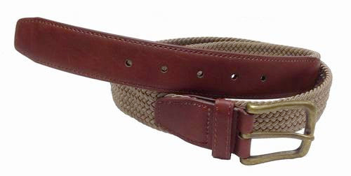 Mens Elastic stretch belt wholesale