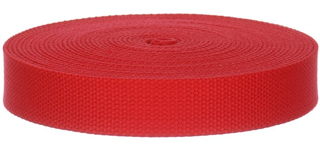"10 Yards Wholesale Cotton Webbing 1.25"" Wide"