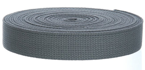 "10 Yards Cotton Webbing Supply  - 1.25"" W"
