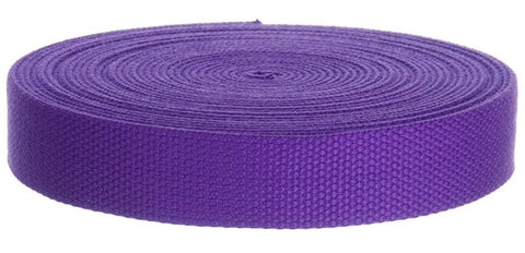 "10 Yards Wholesale Cotton Webbing 1.25"" Web Supply"