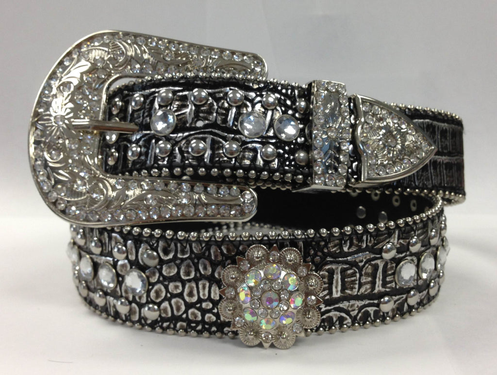 Western Rhinestone bling Round Berry Concho Belt Wholesale 50128M