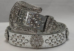 All Western Cowgirl Rhinestone Belts & Girl's Belts