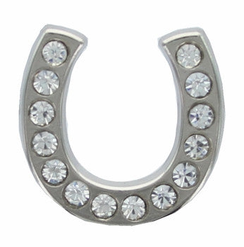Western Rhinestone Lucky Horseshoe Concho 6 pieces CH125