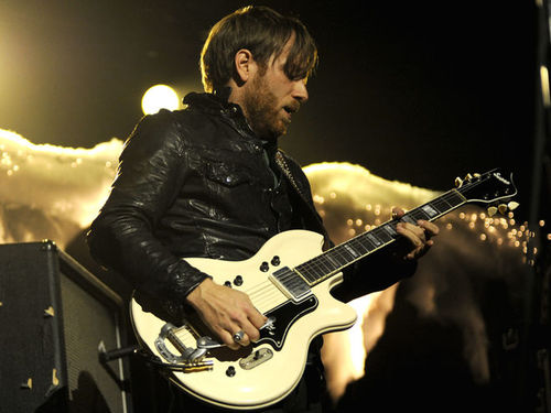 Dan Auerbach and his Supro