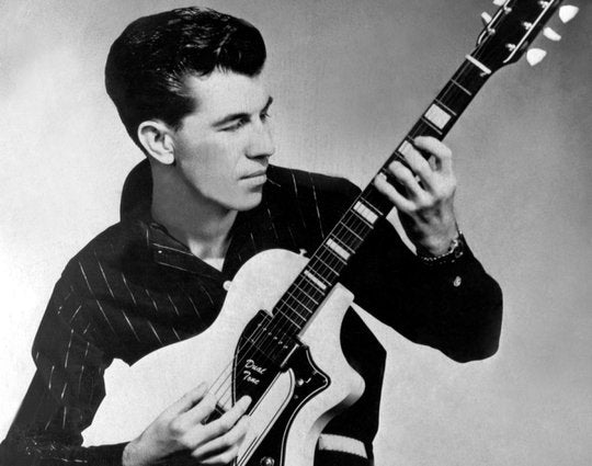 Link Wray and his Supro