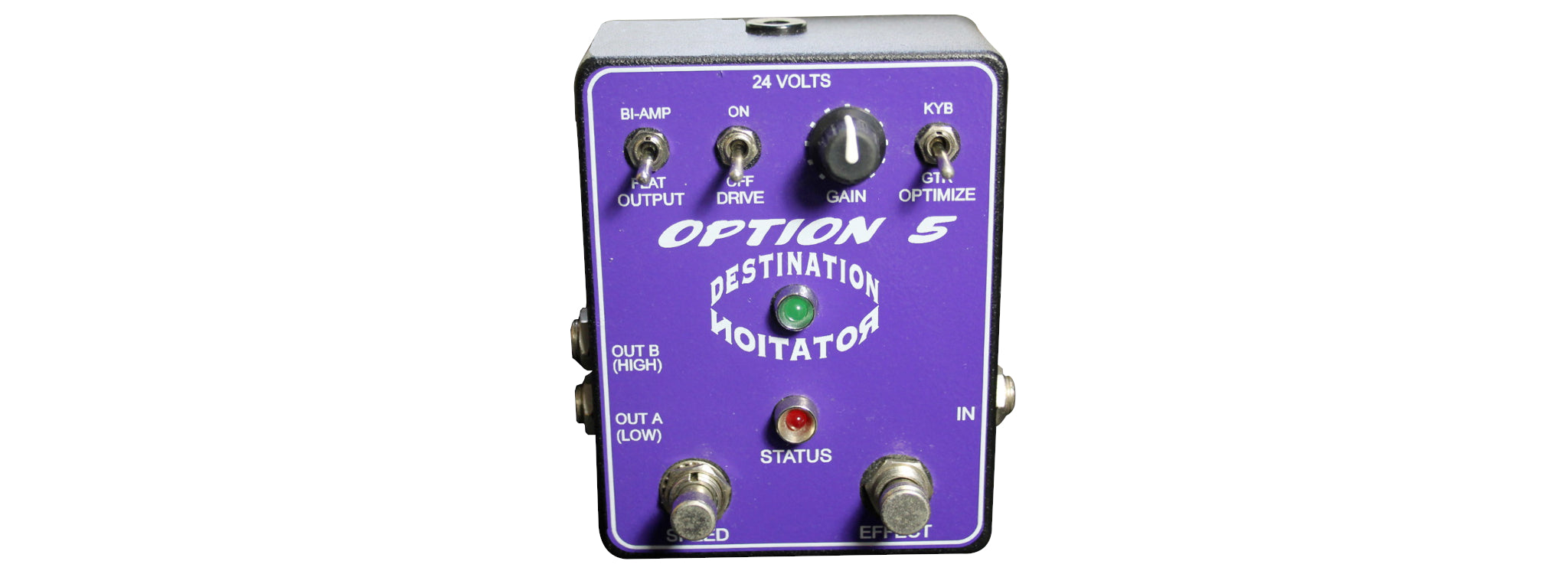Option 5 - Destination Rotation