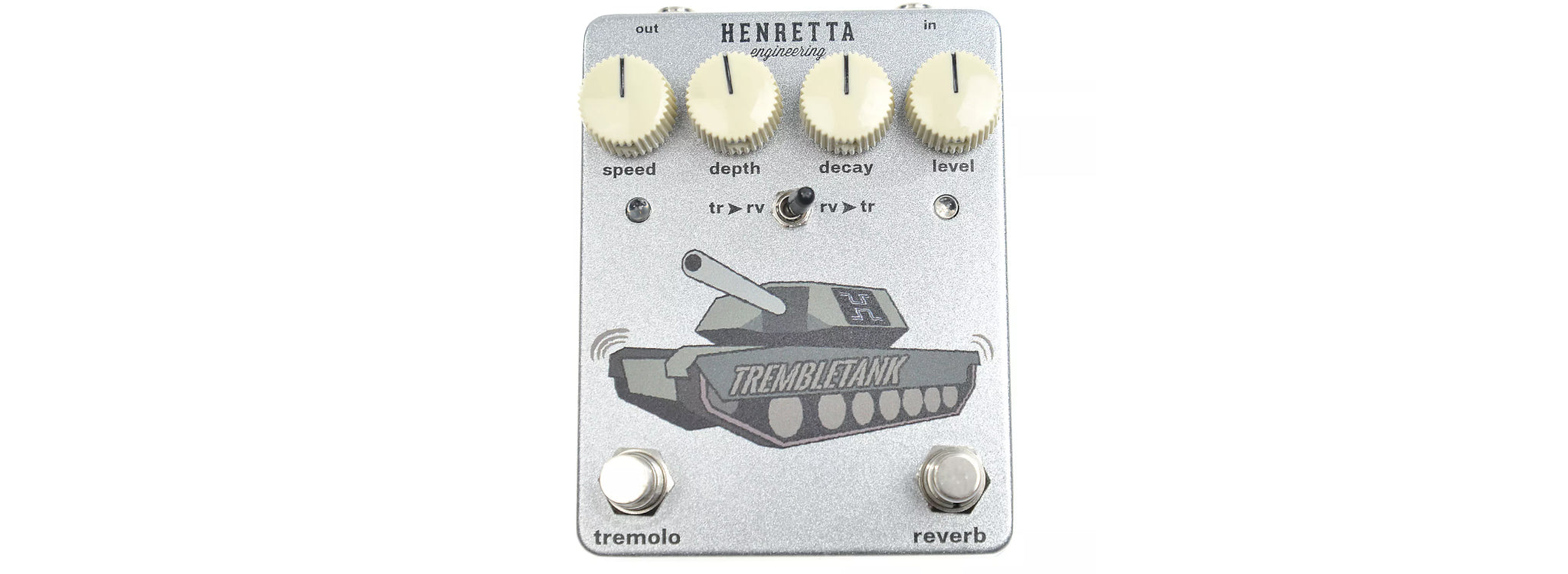 Henretta Engineering - Tremble Tank Tremolo and Reverb