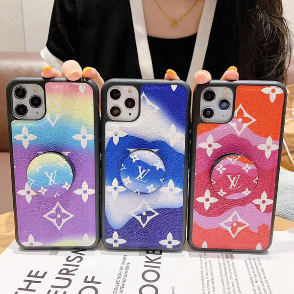 TPU Colorful Case with grip for Iphone