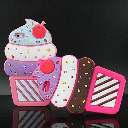 Yummy ice cream silicone case for Iphone - The Glitzy Shop