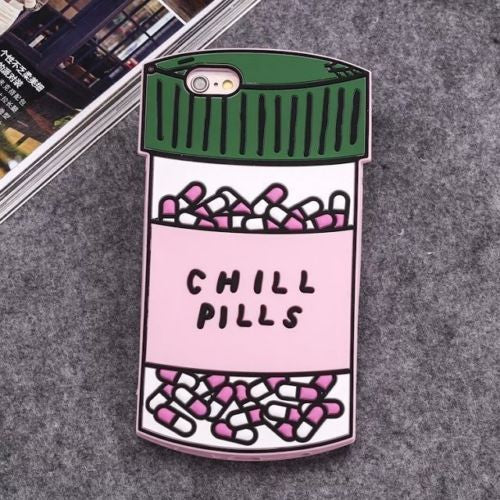 Chill Pills Iphone case - The Glitzy Shop