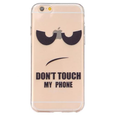 """DON'T TOUCH MY PHONE"" for Iphone & Samsung - The Glitzy Shop"