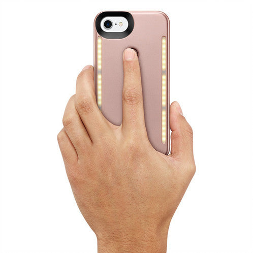 Glitzy Light Up Selfie Case 2-Clearance - The Glitzy Shop