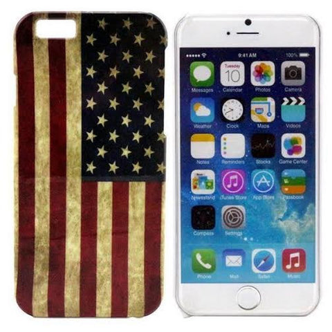 Grunge American Flag Iphone case - The Glitzy Shop