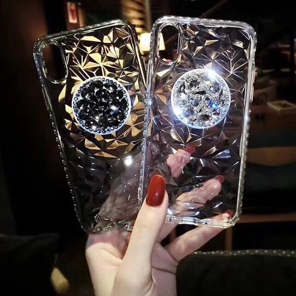 Bling Phone Case with holder for Samsung & Iphone - The Glitzy Shop