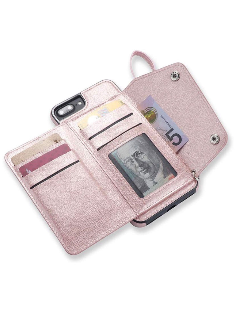 Slim fold wallet case - The Glitzy Shop