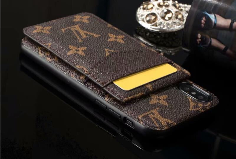Flip up TPU wallet case - The Glitzy Shop