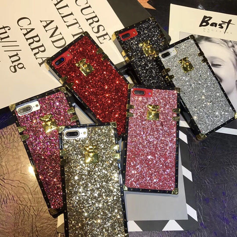 Glittery Trunk Case for Samsung & Iphone - The Glitzy Shop