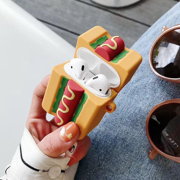 Hotdog AirPod Case Cover - The Glitzy Shop