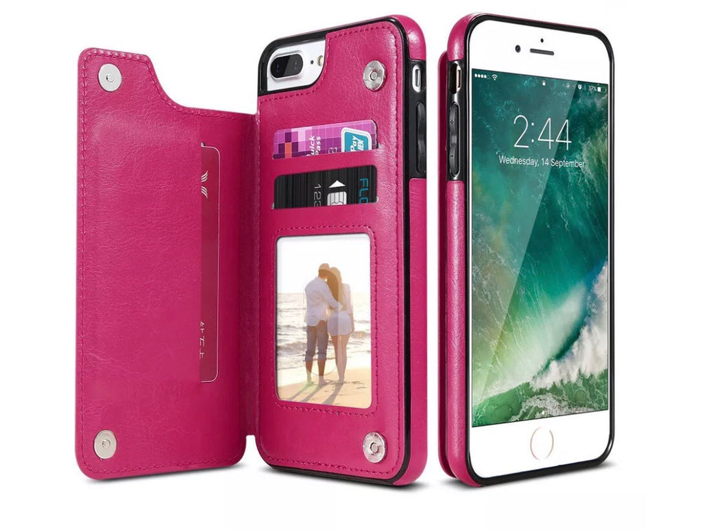 2in1 wallet and phone stand case - The Glitzy Shop