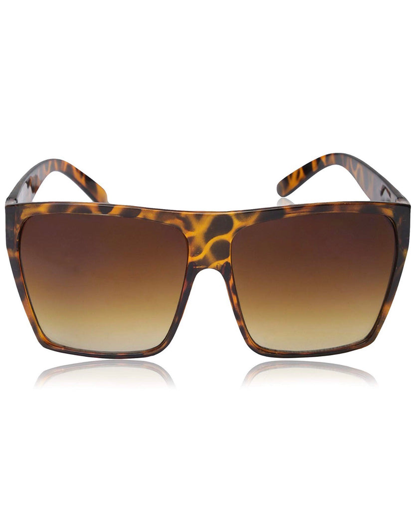 "Oversized ""Eva"" sunglasses in Black or Brown - The Glitzy Shop"