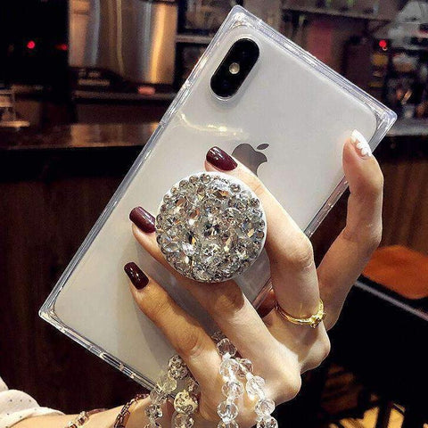 Phone Case with free holder for IPhone - The Glitzy Shop