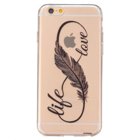"""Life Love"" for Iphone & Samsung-CLEARANCE - The Glitzy Shop"