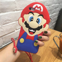 3d Character red silicone case-Iphone - The Glitzy Shop