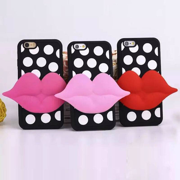 3D Polka dot Iphone case - The Glitzy Shop
