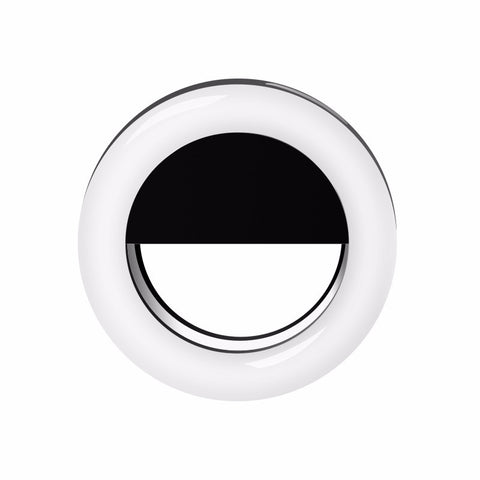 Glitzy Selfie Ring Light-Black - The Glitzy Shop