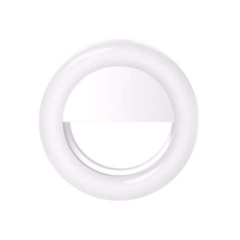 Glitzy Selfie Ring Light-White - The Glitzy Shop