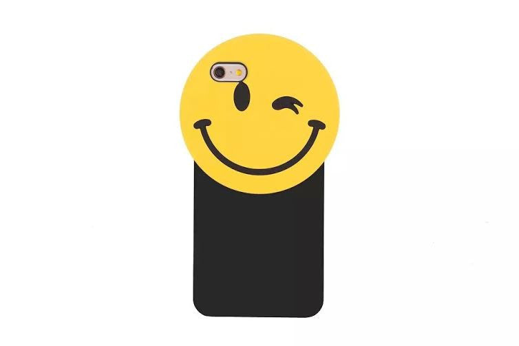 3D Emoji silicone Iphone case - The Glitzy Shop