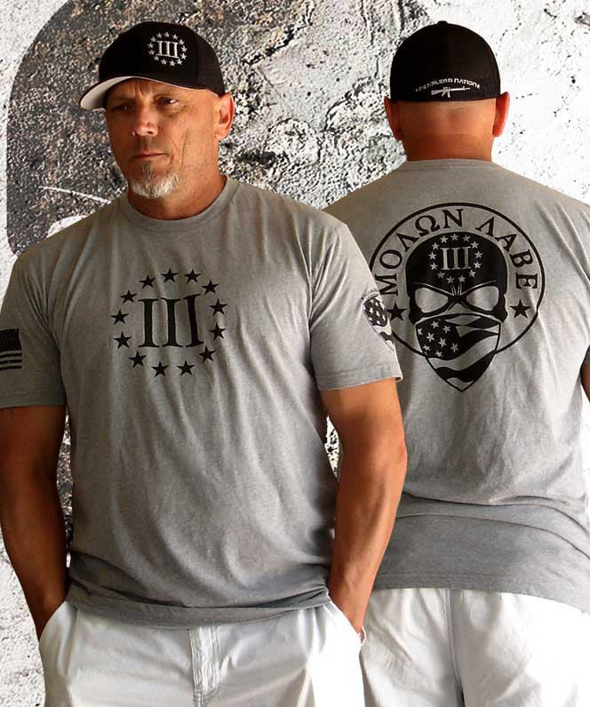 3 Percenter Shirt Grey