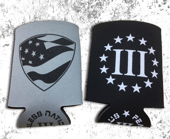 Three Percenter Coozies