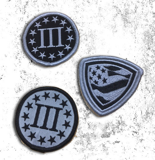 Three Percenter Patches