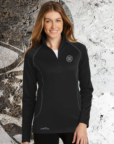 Ladies Three Percenter (Eddie Bauer) Base Layer Fleece Pullover