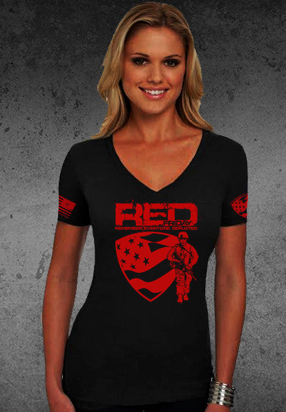 Wear Red Fridays Women's Tee