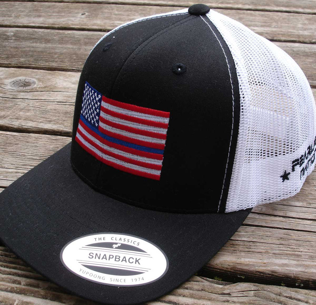 Thin Blue Line Cap with (Color Flag)