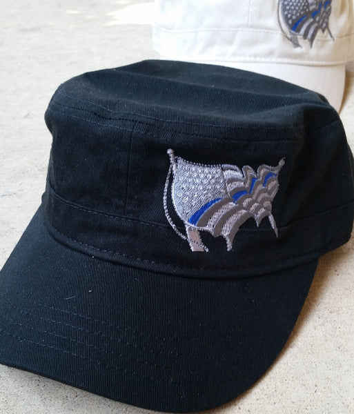 Thin Blue Line America (Military Cap)