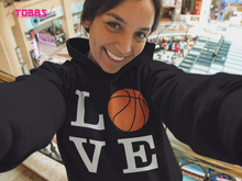 LOVE Basketball-Woman's Hoodie