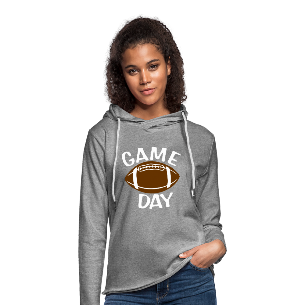 Game Day-Football - heather gray