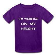 I'm Working On My Height - purple