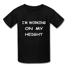 I'm Working On My Height - black