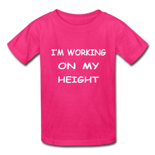 I'm Working On My Height - fuchsia