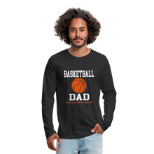 BASKETBALL DAD - black