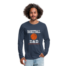 BASKETBALL DAD - navy