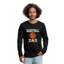 BASKETBALL DAD - charcoal gray