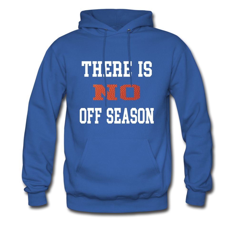 No Off Season-Basketball - royal blue