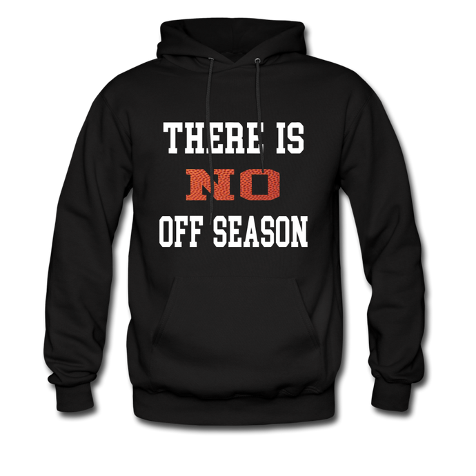 No Off Season-Basketball - black