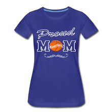 Proud Basketball Mom - royal blue